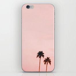 Pink Sunset iPhone Skin