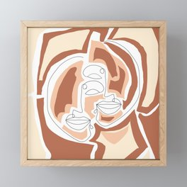 Together and Together Framed Mini Art Print