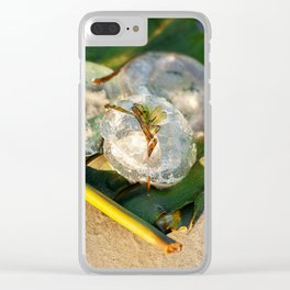 Australian jellyfish on the beach Clear iPhone Case