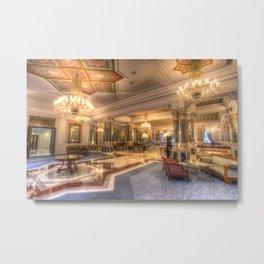 Ciragan Palace Istanbul Metal Print