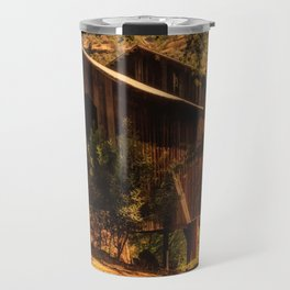 Honey Run Covered Bridge Travel Mug