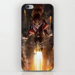 Rocket Raccoon iPhone Skin