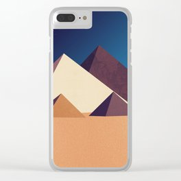 Dawn on Kings Clear iPhone Case