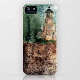 Recollection: Split Rock Lighthouse iPhone Case
