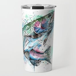 Rainbow Trout Travel Mug
