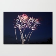 Night of Fire II Canvas Print