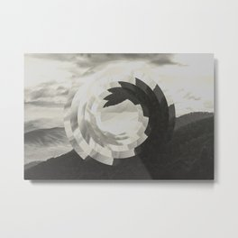 Natural Offset Metal Print