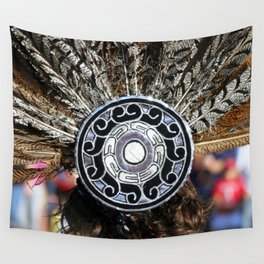 Feather Headdress Wall Tapestry