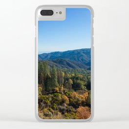 Fall Sunrise Photography Print Clear iPhone Case