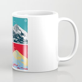 Mt. Fuji Pop Art Coffee Mug