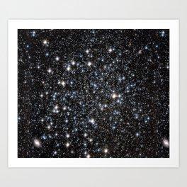 Galaxy Glitter Kunstdrucke