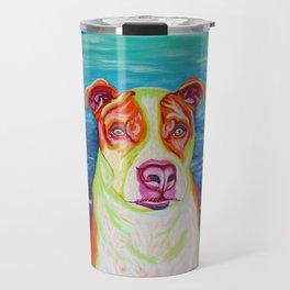 Rudy, the Science Dog Travel Mug
