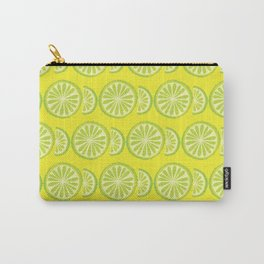 Lime Pattern Carry-All Pouch