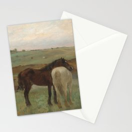 Horses in a Meadow Stationery Cards