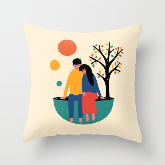 Always and forever Throw Pillow