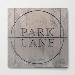 Park Lane Metal Print