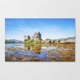 Eilean Donan in Summer Canvas Print