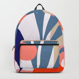 Jungle Love - Pink & Blue Backpack