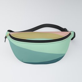 Abstract Mountains Fanny Pack