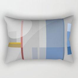 Shades of Contemplation Rectangular Pillow