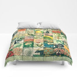 Such a wonderful world - Patchwork Comforters