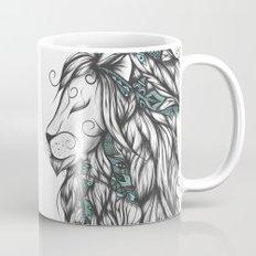 Poetic Lion Turquoise Mug