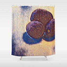 Avocados Unite II - series Shower Curtain