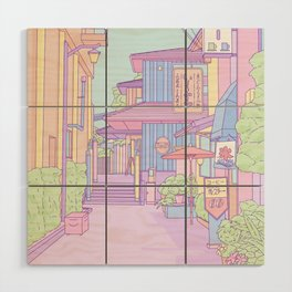 Continuously Lost in Japan Wood Wall Art