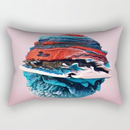ACRYLIC BALL ABSTRACT // 3D ABSTRACT Rectangular Pillow