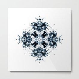 NOX BLUE II Metal Print