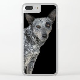 Australian Cattle Dog Clear iPhone Case