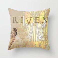 Riven Throw Pillow