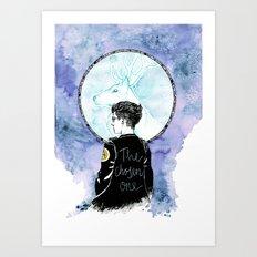 Auror Harry Art Print
