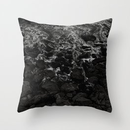 All the Night Tide Throw Pillow