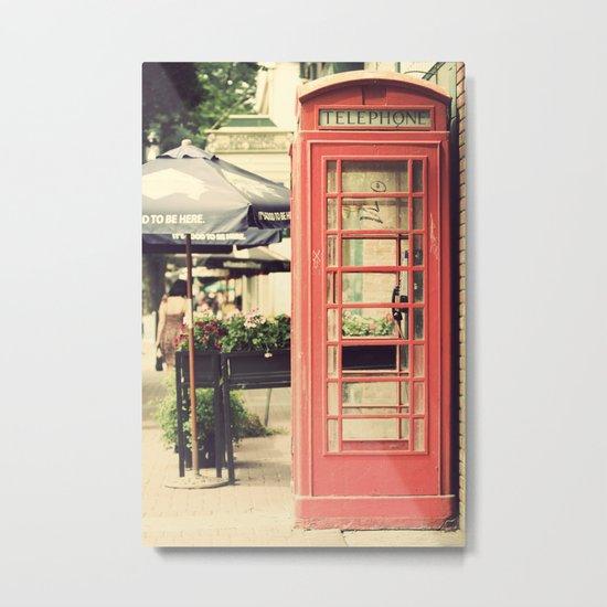 London calling ... Metal Print