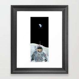 Home Planet Framed Art Print