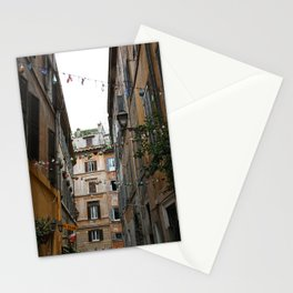An alleyway in Rome. Stationery Cards