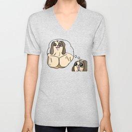 Buff Puppy Unisex V-Neck
