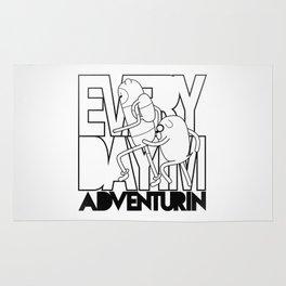 Every Day I'm Adventurin' Rug