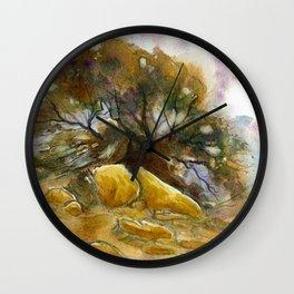 Pastoral Wall Clock