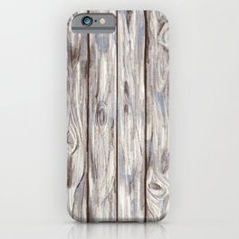 Porch Wood iPhone Case