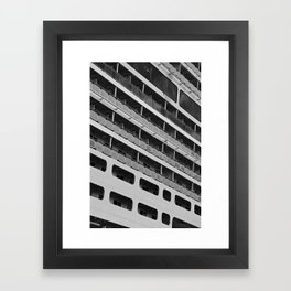 Strip and Line Framed Art Print