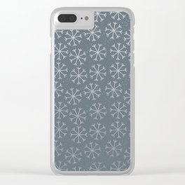 Winter Abstracts 19B Clear iPhone Case