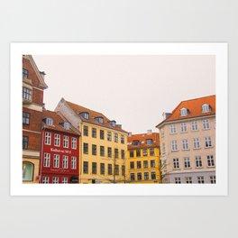 Copenhagen Colours Art Print