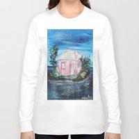 home sweet home Long Sleeve T-shirts featuring home by sladja