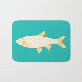 The Golden Fish Bath Mat