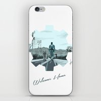 fallout iPhone & iPod Skins featuring Fallout 4 by jorgeink