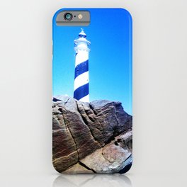 Menorca Lighthouse iPhone Case