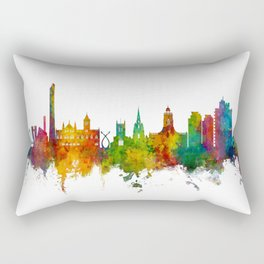 Northampton England Skyline Rectangular Pillow
