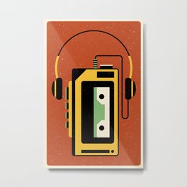 Walkman Metal Print
